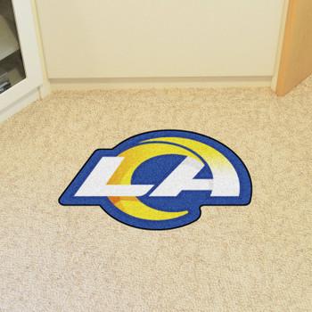 Los Angeles Rams Navy Mascot Mat