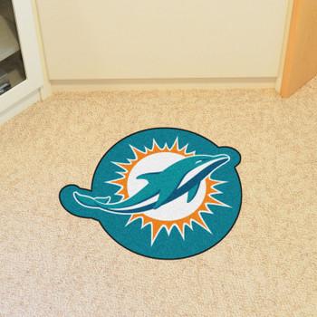 Miami Dolphins Turquoise Mascot Mat