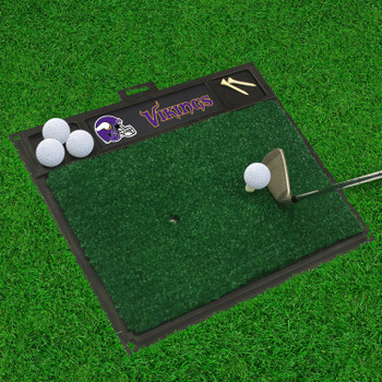 "20"" x 17"" Minnesota Vikings Golf Hitting Mat"