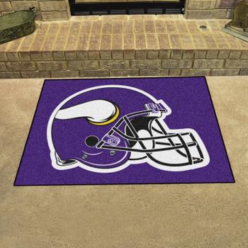 "33.75"" x 42.5"" Minnesota Vikings All Star Purple Rectangle Rug"