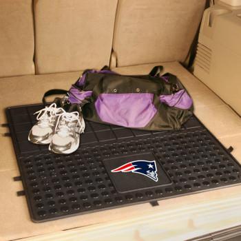 "31"" New England Patriots Heavy Duty Vinyl Cargo Trunk Mat"