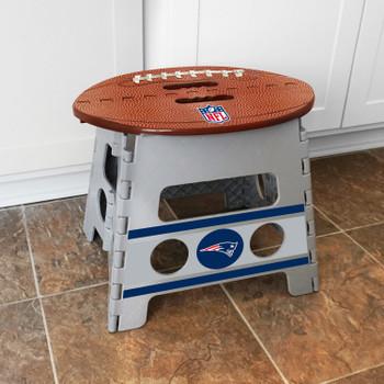 New England Patriots Folding Step Stool
