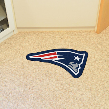 New England Patriots Navy Mascot Mat