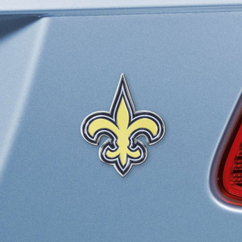 New Orleans Saints Gold Emblem, Set of 2