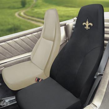New Orleans Saints Black Car Seat Cover