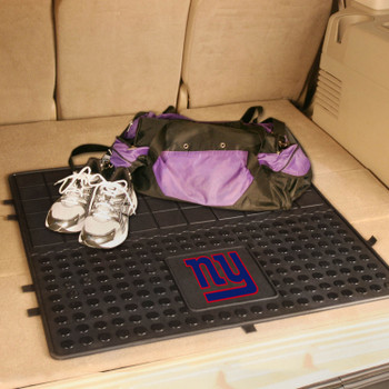 "31"" New York Giants Heavy Duty Vinyl Cargo Trunk Mat"