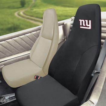 New York Giants Black Car Seat Cover