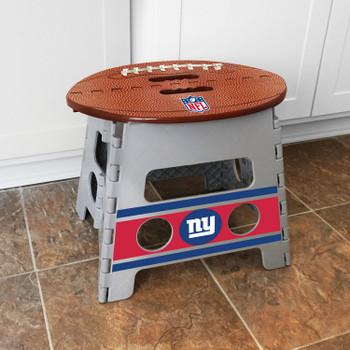 New York Giants Folding Step Stool