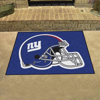 "33.75"" x 42.5"" New York Giants All Star Blue Rectangle Rug"