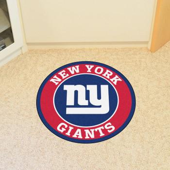 "27"" New York Giants Roundel Round Mat"