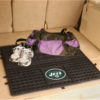 "31"" New York Jets Heavy Duty Vinyl Cargo Trunk Mat"