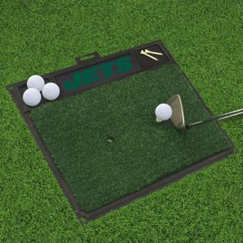 "20"" x 17"" New York Jets Golf Hitting Mat"