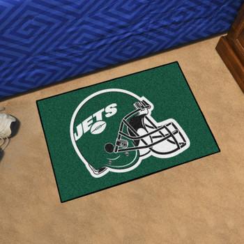 """19"""" x 30"""" New York Jets Green Rectangle Starter Mat"""
