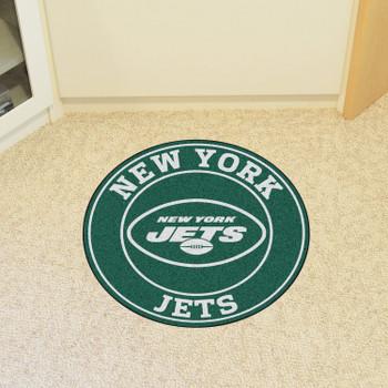 "27"" New York Jets Roundel Round Mat"