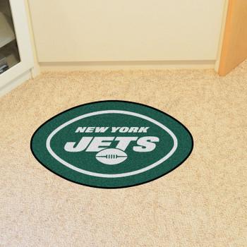 New York Jets Green Mascot Mat
