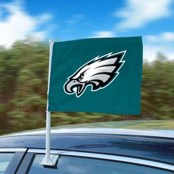 "11"" x 14"" Philadelphia Eagles Green Car Flag"