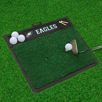 """20"""" x 17"""" Philadelphia Eagles Golf Hitting Mat"""
