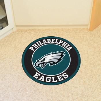 "27"" Philadelphia Eagles Roundel Round Mat"