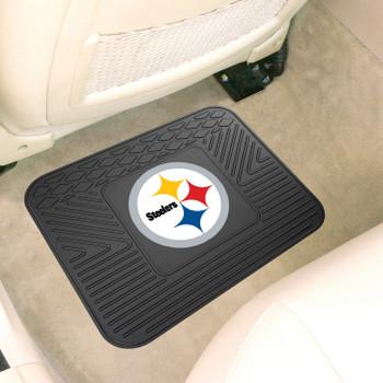 "14"" x 17"" Pittsburgh Steelers Car Utility Mat"