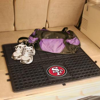 """31"""" San Francisco 49ers Heavy Duty Vinyl Cargo Trunk Mat"""