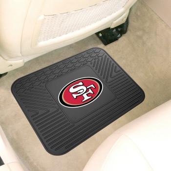 "14"" x 17"" San Francisco 49ers Car Utility Mat"