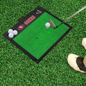 "20"" x 17"" San Francisco 49ers Golf Hitting Mat"