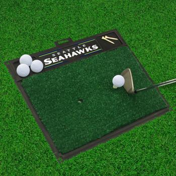 "20"" x 17"" Seattle Seahawks Golf Hitting Mat"