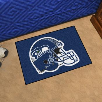 "19"" x 30"" Seattle Seahawks Blue Rectangle Starter Mat"