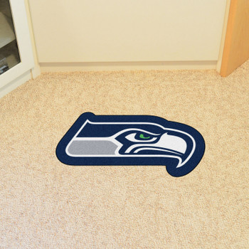 Seattle Seahawks Blue Mascot Mat