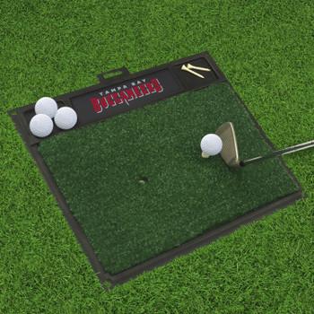 "20"" x 17"" Tampa Bay Buccaneers Golf Hitting Mat"