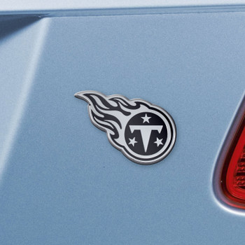 Tennessee Titans Chrome Emblem, Set of 2