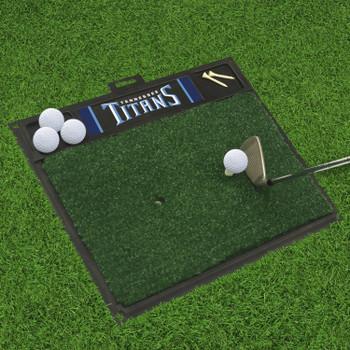 "20"" x 17"" Tennessee Titans Golf Hitting Mat"
