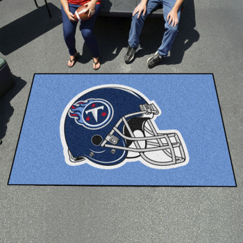 """59.5"""" x 94.5"""" Tennessee Titans Navy Rectangle Ulti Mat"""