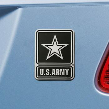 U.S. Army Chrome Emblem, Set of 2