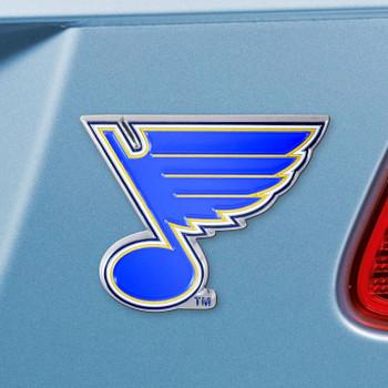 St. Louis Blues Navy Emblem, Set of 2