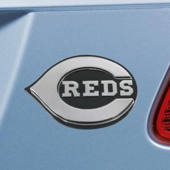 Cincinnati Reds Chrome Emblem, Set of 2