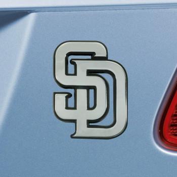 San Diego Padres Chrome Emblem, Set of 2