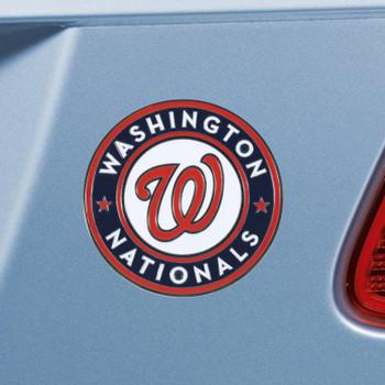 Washington Nationals Red Emblem, Set of 2