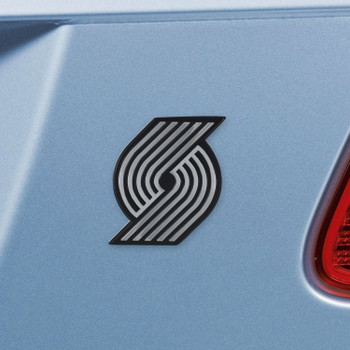 Portland Trail Blazers Chrome Emblem, Set of 2