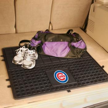 "31"" Chicago Cubs Heavy Duty Vinyl Cargo Trunk Mat"