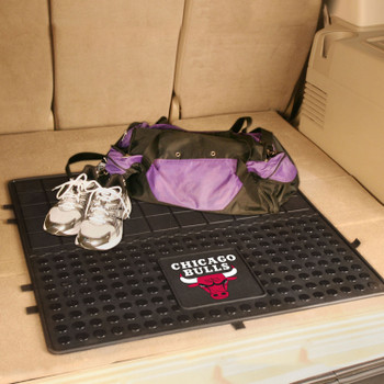 "31"" Chicago Bulls Heavy Duty Vinyl Cargo Trunk Mat"