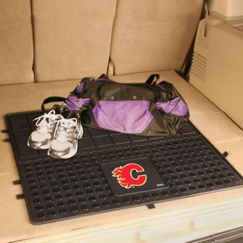 "31"" Calgary Flames Heavy Duty Vinyl Cargo Trunk Mat"