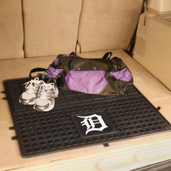 """31"""" Detroit Tigers Heavy Duty Vinyl Cargo Trunk Mat"""