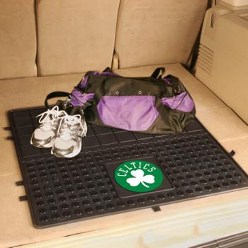 """31"""" Boston Celtics Heavy Duty Vinyl Cargo Trunk Mat"""