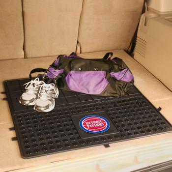 "31"" Detroit Pistons Heavy Duty Vinyl Cargo Trunk Mat"