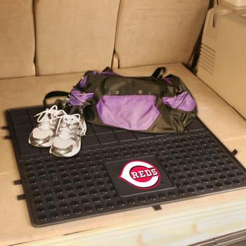 "31"" Cincinnati Reds Heavy Duty Vinyl Cargo Trunk Mat"