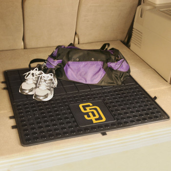 "31"" San Diego Padres Heavy Duty Vinyl Cargo Trunk Mat"