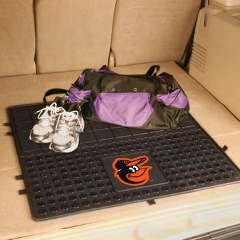 "31"" Baltimore Orioles Heavy Duty Vinyl Cargo Trunk Mat"