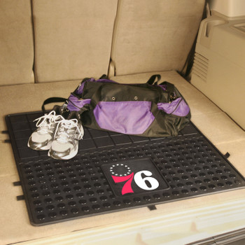 "31"" Philadelphia 76ers Heavy Duty Vinyl Cargo Trunk Mat"