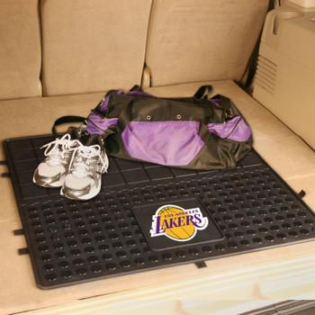 "31"" Los Angeles Lakers Heavy Duty Vinyl Cargo Trunk Mat"